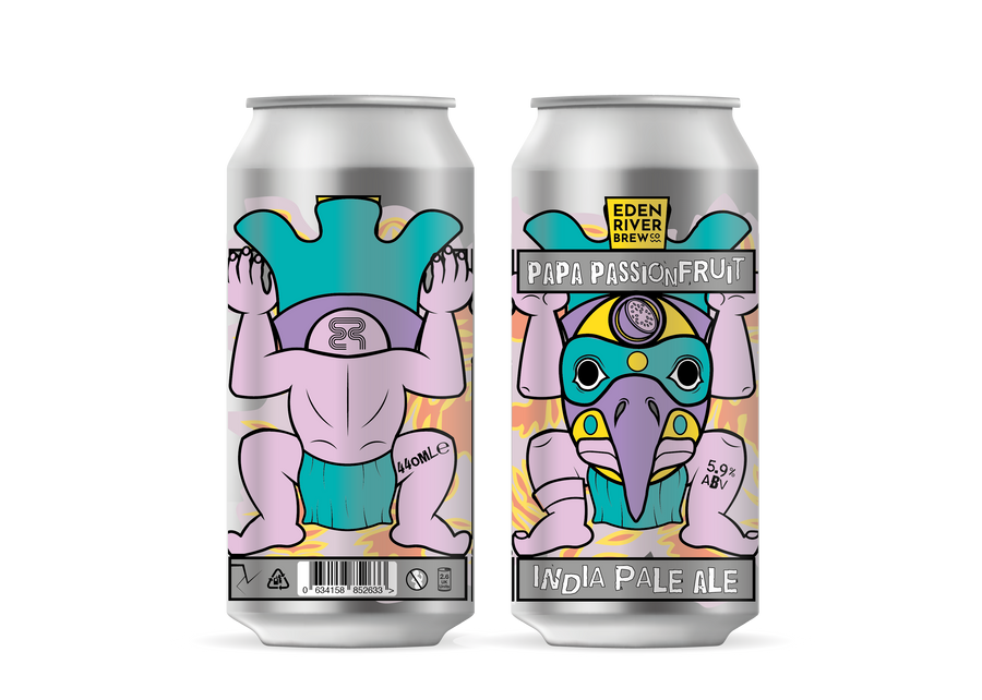 Totem Papa Passionfruit 440ml Craft Can