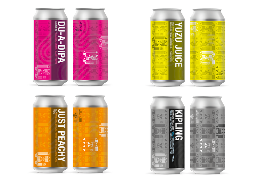 Subscriber offer / mixed case / logo range / 440ml craft can
