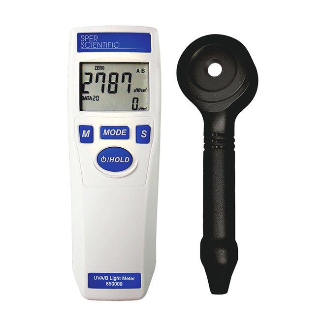UV + Laser Light Meters