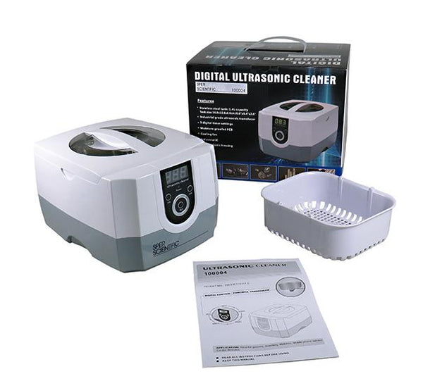 High Powered Ultrasonic Cleaner - Sper Scientific Direct
