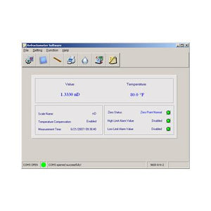 Additional Software for 300037 Refractometer - Sper Scientific Direct