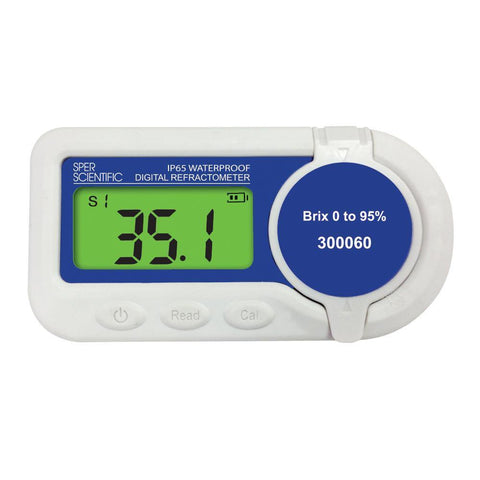 Waterproof Digital Refractometer - Brix 0 to 95%