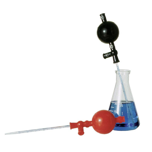 Black Silicone Safety Pipet Filler - Sper Scientific Direct