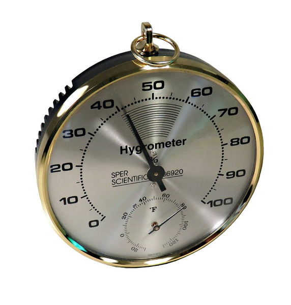 Dial Hygrometer / Thermometer - Sper Scientific Direct