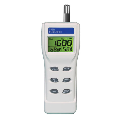 Indoor Air Quality Meter - Sper Scientific Direct