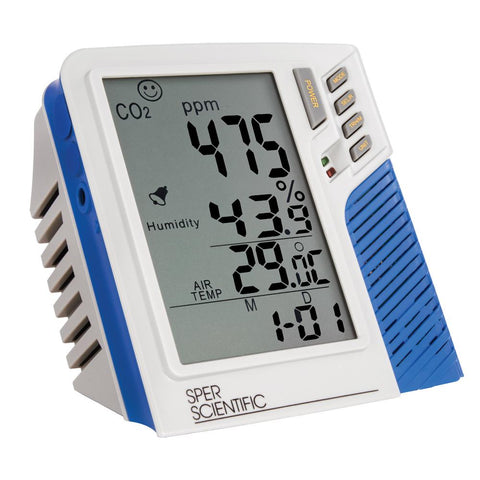 Indoor Air Quality Monitor and Data Logger - Sper Scientific Direct