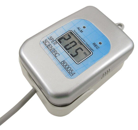 Self-Contained Temperature and Humidity Datalogger with Docking Station