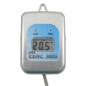 Self-Contained Temperature and Humidity Datalogger with Docking Station - Sper Scientific Direct
