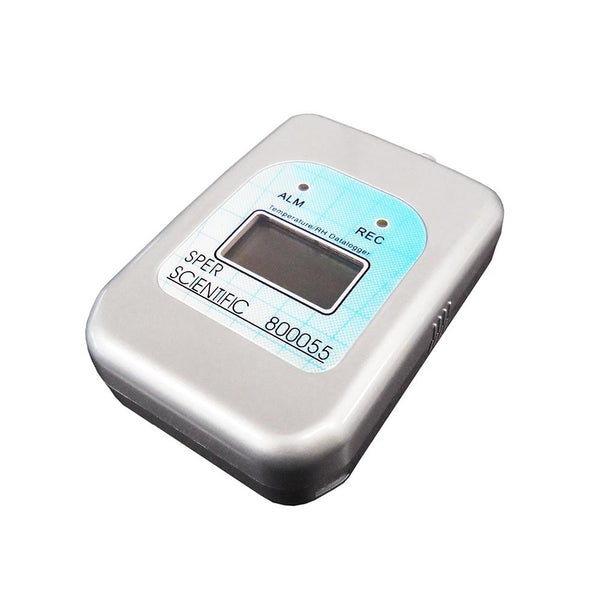 Self-Contained Temperature and Humidity Datalogger - Additional Sensor - Sper Scientific Direct