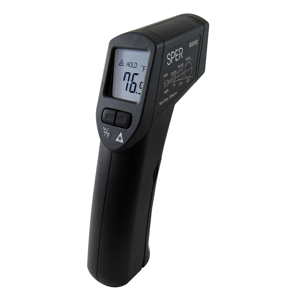 Infrared Thermometer Gun 8:1 / 930°F - Sper Scientific Direct