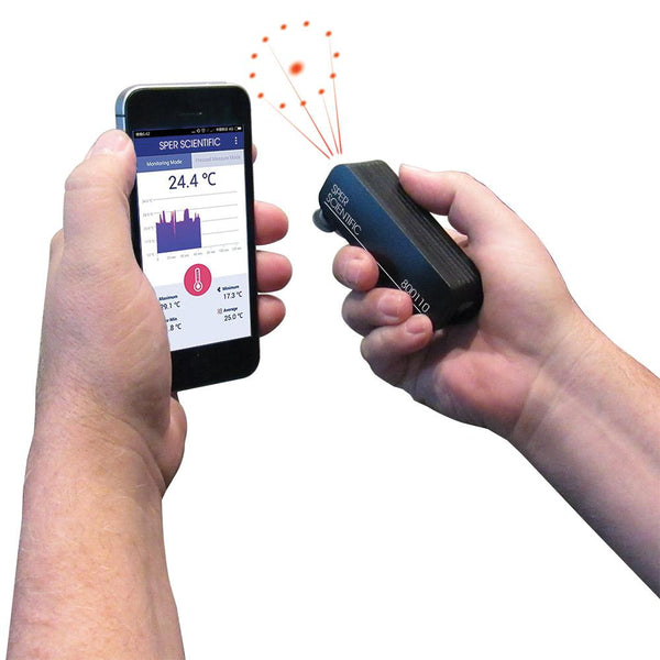 Bluetooth Infrared Pen Thermometer - Sper Scientific Direct