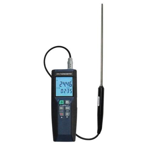 Datalogging RTD Thermometer - Certified