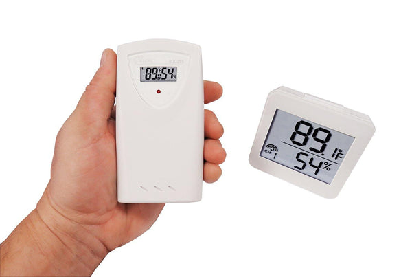 Wireless Humidity and Temperature Monitor Set