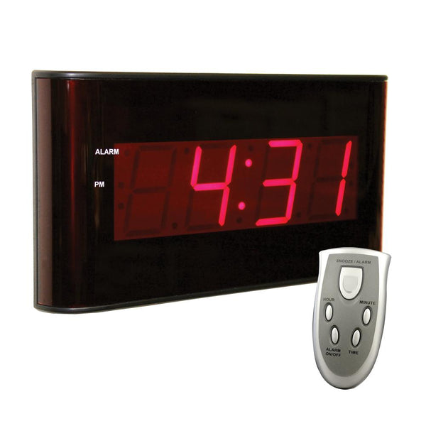 Wall Clock with Large LED Display - Sper Scientific Direct