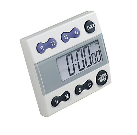 Digital Count Down/Count Up Timer with Clock - Sper Scientific Direct