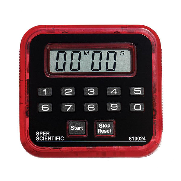 Count Up / Count Down Timer - 99 Min - Sper Scientific Direct