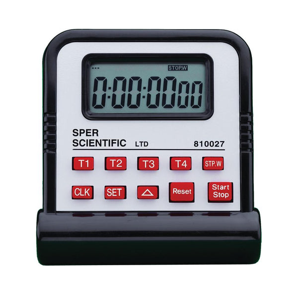 Simultaneous Start Multi-Channel Timer - Sper Scientific Direct