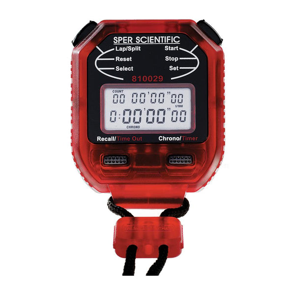 8 Memory Stopwatch - Sper Scientific Direct