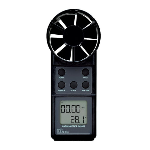 Anemometer / Thermometer - Sper Scientific Direct