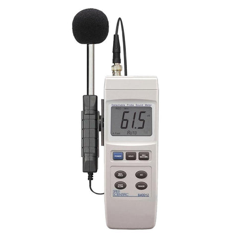 Sound Meter with Detachable Probe