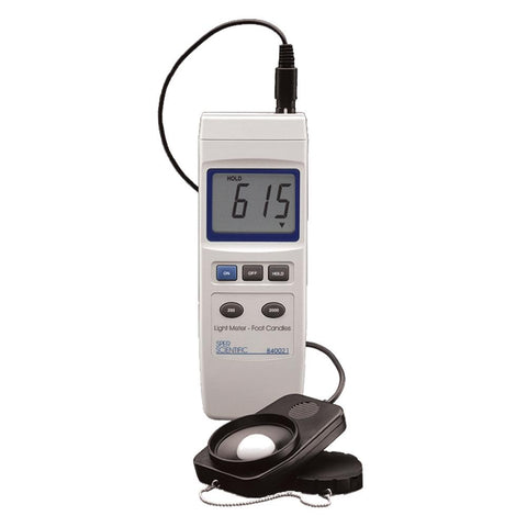 Light Meter (Foot-Candles) - Sper Scientific Direct