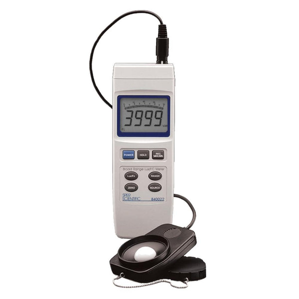 Advanced Light Meter - Sper Scientific Direct