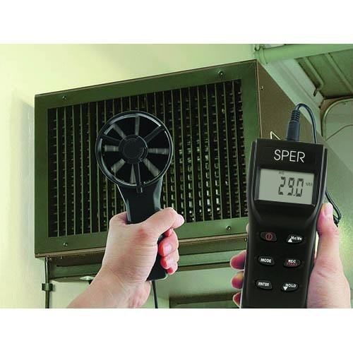 Psychrometer / Anemometer - Sper Scientific Direct
