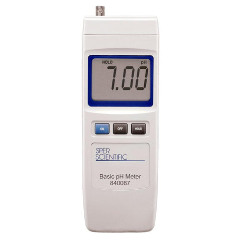 Basic pH Meter - Sper Scientific Direct