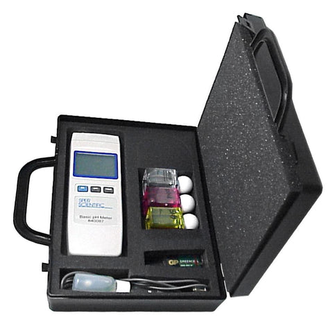 Basic pH Meter Kit - Sper Scientific Direct
