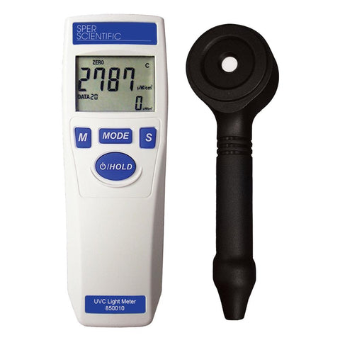 UV Light Meter UVC - Sper Scientific Direct