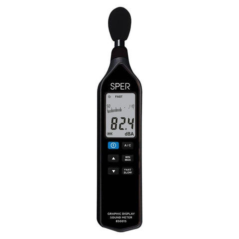 Graphic Display Sound Meter - Sper Scientific Direct
