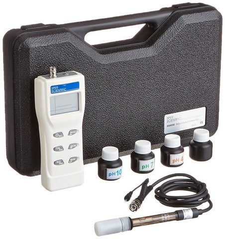 Advanced pH Meter Kit - Sper Scientific Direct