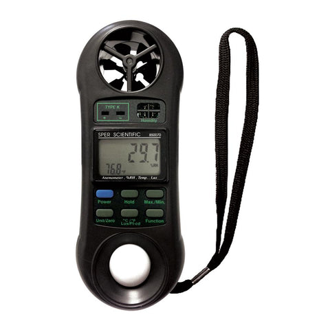 Mini Environmental Quality Meter - Sper Scientific Direct