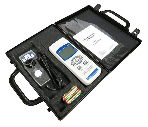 Environmental Quality SD Card Logger - Sper Scientific Direct
