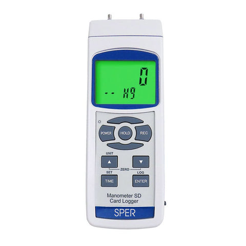 Digital Manometer with SD Card Logger