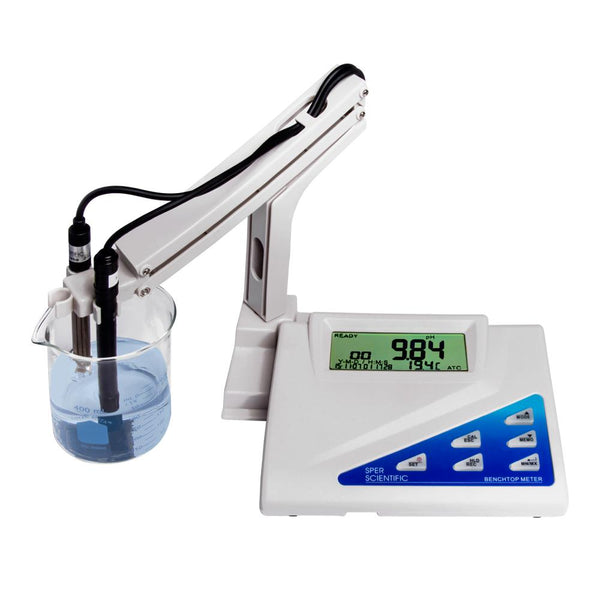 Benchtop pH-mV Meter - 0 to 14 pH Range - Sper Scientific Direct