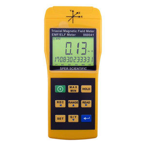 3 Axis EMF Meter - Sper Scientific Direct
