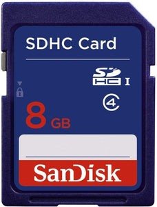 8GB Secure Digital Card