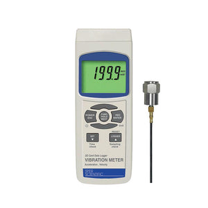 Vibration Meter with SD Card Logger