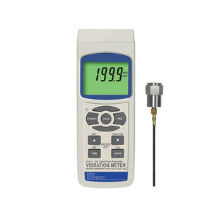 Vibration Meter with SD Card Logger and Infrared Thermometer / Tachometer