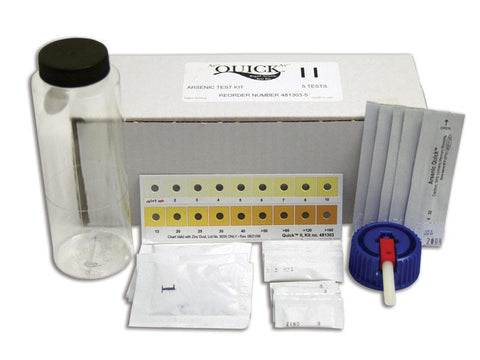Arsenic Quick™ II Kit 5 Tests - Sper Scientific Direct