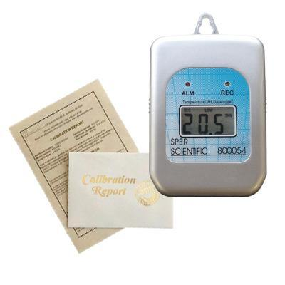 Recertification - Self-Contained Temperature and Humidity Datalogger