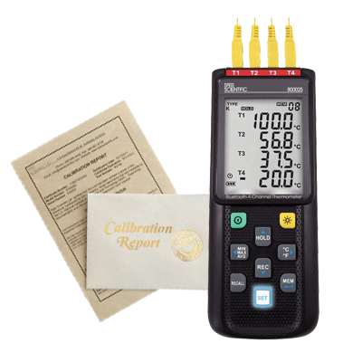 Recertification - Thermometers - Sper Scientific Direct