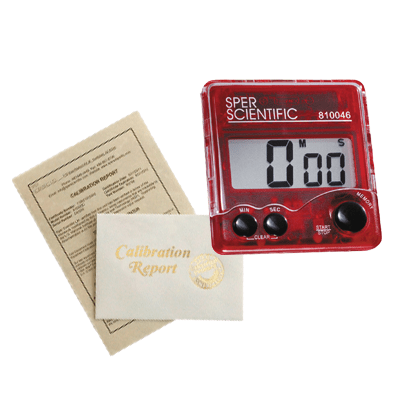 Recertification - Timers - Sper Scientific Direct