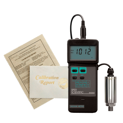 Recertification - Vacuum Meters - Sper Scientific Direct