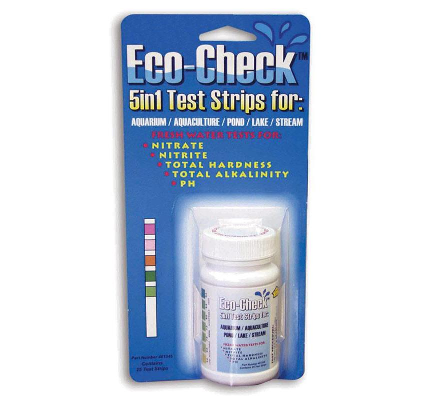 Eco-Check 5 in 1 Test Strips (Bottle of 25) - Sper Scientific Direct