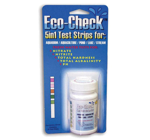 Eco-Check 5 in 1 Test Strips (Bottle of 25)