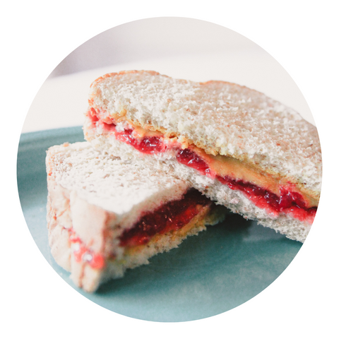 Banzo Butter and Jelly Sandwich!