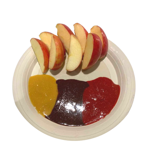 apples with all flavors of banzo butter