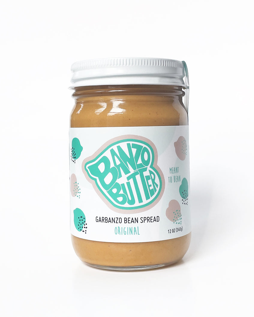 Original Banzo Butter - The Newest Plant-Based Sweet Spread!